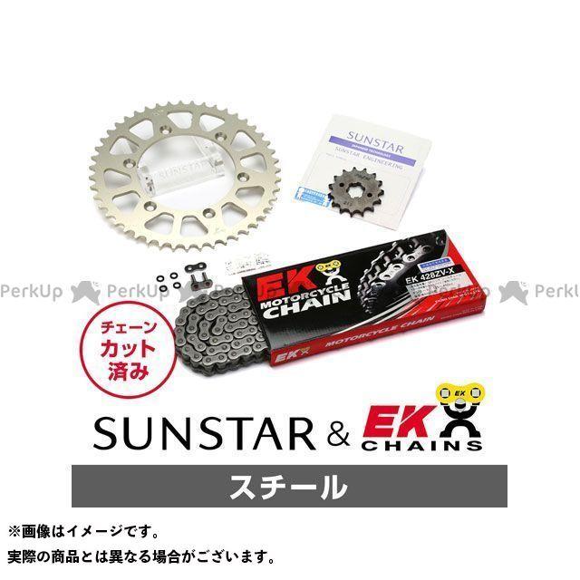 【特価品】サンスター TT250Rレイド KE21531 スプロケット&チェーンキット(スチール) SUNSTAR