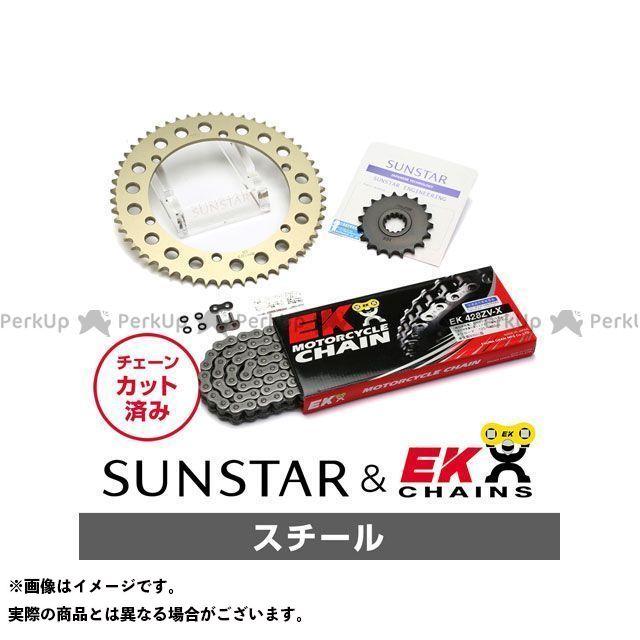 【特価品】サンスター SR500 KE21731 スプロケット&チェーンキット(スチール) SUNSTAR
