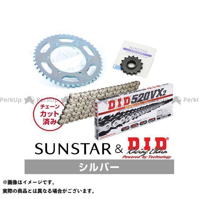 【特価品】サンスター XJR400 KD30306 スプロケット&チェーンキット(シルバー) SUNSTAR