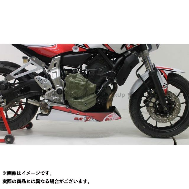 S2コンセプト MT-07 Belly pan piste MT07 raw | Y709.000 S2 Concept