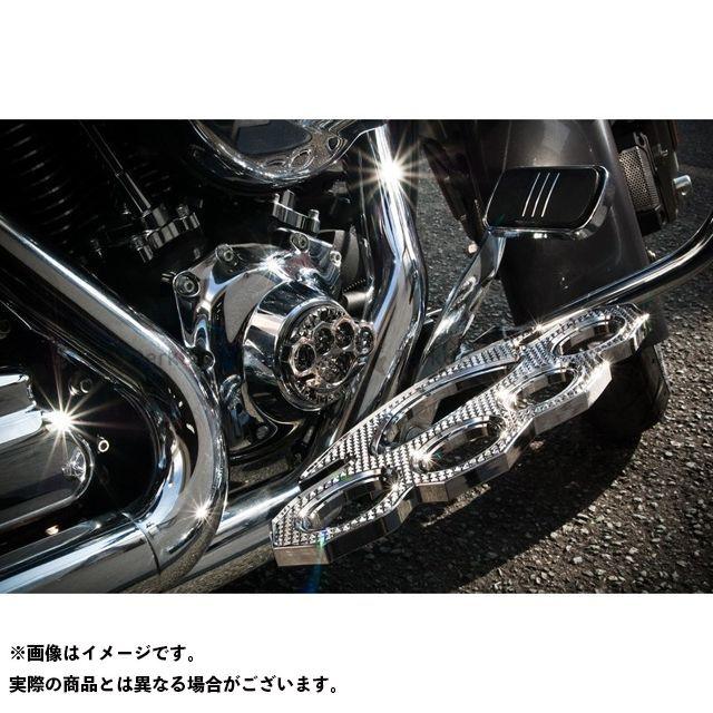送料無料 ケンジムラカミ Art Of Aluminum Kenji Murakami フロアボード・ステップボード Floor Board Knuckle 黒ニッケルめっき