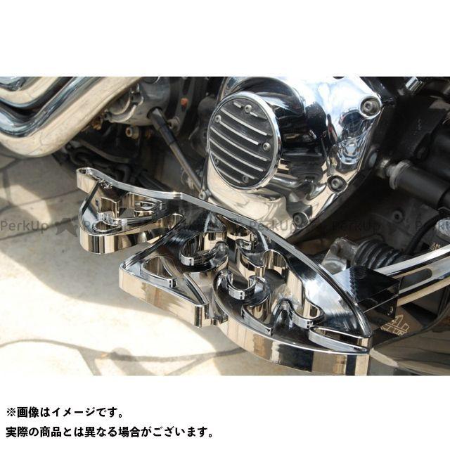 送料無料 ケンジムラカミ Art Of Aluminum Kenji Murakami フロアボード・ステップボード Floor Board Butterfly 黒ニッケルめっき