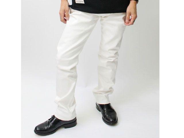 送料無料 Linda リンダ パンツ SKINNY STRETCHING PANTS ホワイト 30