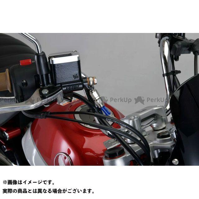 スウェッジラインプロ モンキー125 フロントブレーキホースキット(ステンレスブラック) ホースカラー:ブラックスモーク SWAGE-LINE PRO