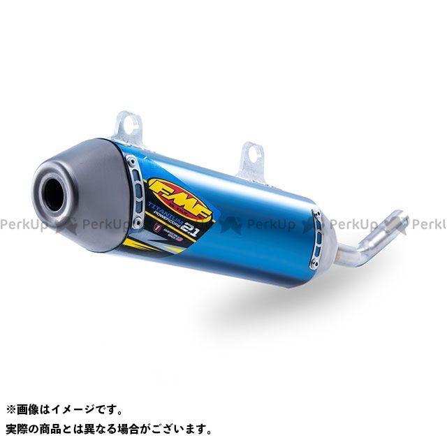 【エントリーで最大P23倍】FMF YZ250 POWERCORE 2.1 サイレンサー/ブルーアノダイズ(チタン) エフエムエフ