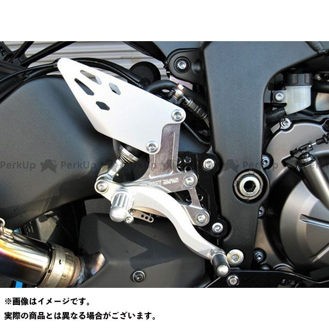 BEET ニンジャZX-6R 19-ハイパーバンク固定式(シルバー) ビートジャパン