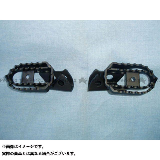 力造 セロー250 トリッカー XG250 ワイドステップセット ワイドステップセット(スチール)セロー250/トリッカー用 リキゾー