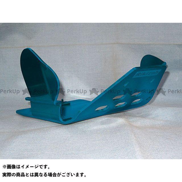 【エントリーで更にP5倍】力造 セロー225 アルミスキッドプレートM SPL YAMAHA セロー225用(ブルー) リキゾー