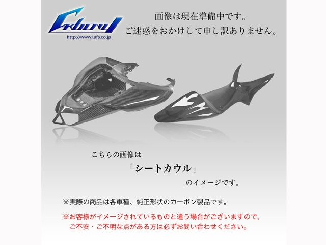 カーボニー S1000RR カウル・エアロ S1000RR 09-11用 テールカウル 綾織り ツヤ有り