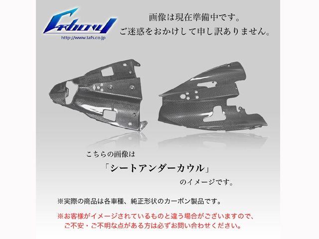カーボニー ハイパーモタード カウル・エアロ HyperMotard用 シートアンダーカウル 綾織り ツヤ有り