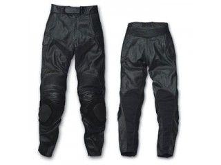 送料無料 SKY エスケーワイ パンツ Rookie RLP-1410 パンチングレザーパンツ(ブラック) 4L