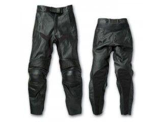 送料無料 SKY エスケーワイ パンツ Rookie RLP-1411 パンチングレザーパンツ(ブラック) M