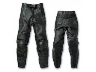 送料無料 SKY エスケーワイ パンツ Rookie RLP-1411 パンチングレザーパンツ(ブラック) M/LL