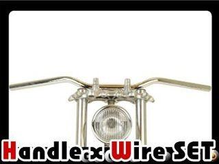 グッズ エストレヤ ハンドル関連パーツ エストレア/RS(-06) スローベントバー クローム AMAL364ホルダー ワイヤー、セット