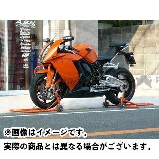 Jトリップ 【MADE in JAPAN】ロングローラースタンド 受けタイプ:本体のみ カラー:オレンジ ジェイトリップ