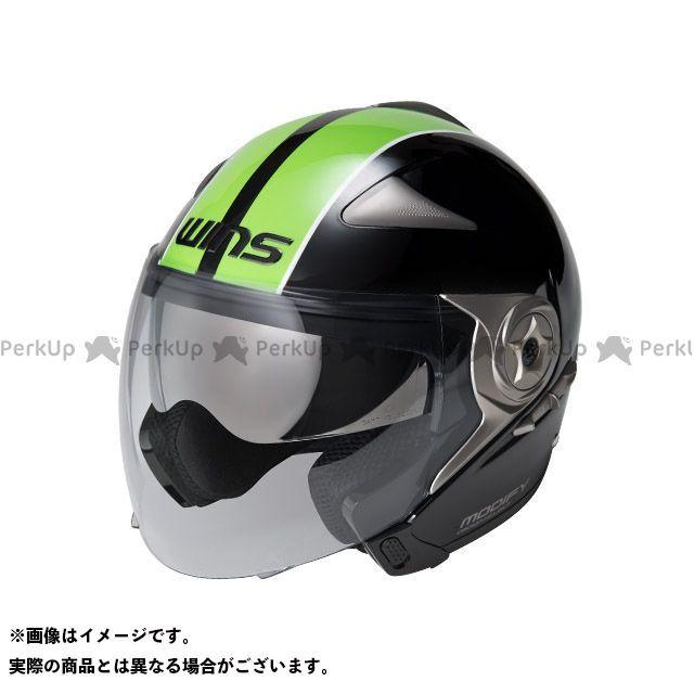 WINS MODIFY JET GT STRIPE カラー:ブラック/グリーン サイズ:L/58-59cm ウインズ