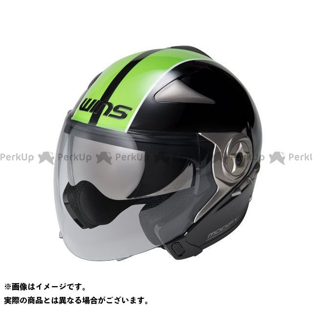 WINS MODIFY JET GT STRIPE カラー:ブラック/グリーン サイズ:XL/59-60cm ウインズ