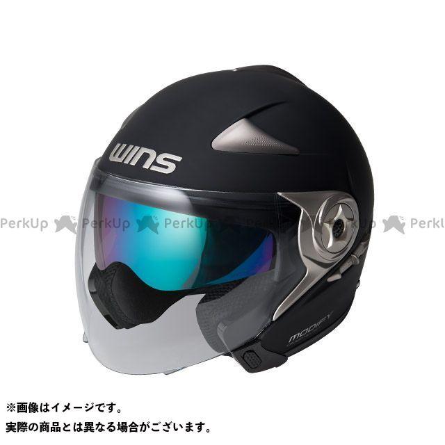 送料無料 WINS ウインズ ジェットヘルメット MODIFY JET マットブラック M/57-58cm