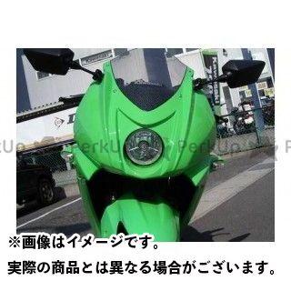 プレジャー ニンジャ250R Ninjya250R デルタウインカー カラー:キャンディーパーシモンレッド PLEASURE