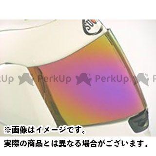 SUOMY ミラーシールド(SP帽体用) カラー:イリジウム スオーミー