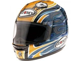 SUOMY スオーミー フルフェイスヘルメット SPEC 1R ガデアイエローSPGC XL/61-62cm