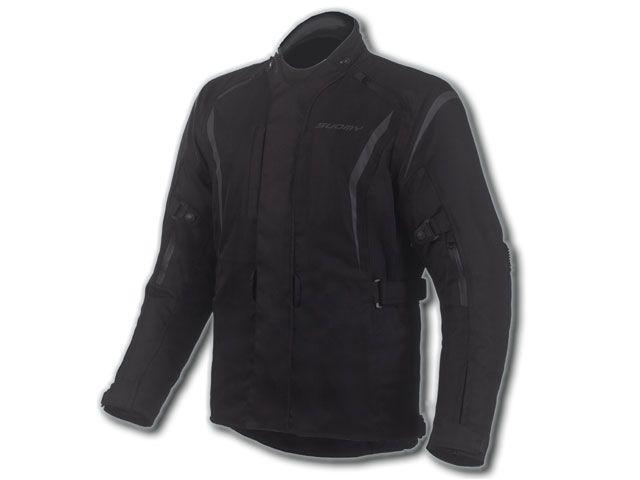 送料無料 SUOMY スオーミー ジャケット SJK-012 T-ツーリングジャケット(ブラック) M