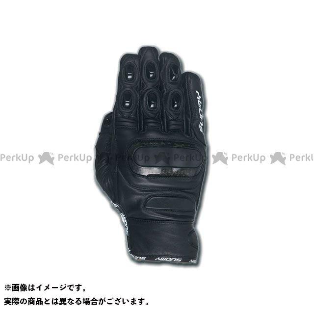 送料無料 SUOMY スオーミー レザーグローブ SGU-021 R-ソニックグローブ ブラック S