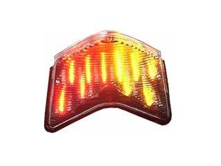 送料無料 エトスデザイン ニンジャZX-10R ニンジャZX-6R Z750S テール関連パーツ LED クリアテールランプユニット(サブウインカー機能付き)
