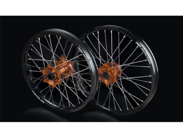 TGR 450 EXC 450 SX-F ホイール本体 TGR レーシングホイール TYPE-R モトクロス用 リア単体 グリーン オレンジ