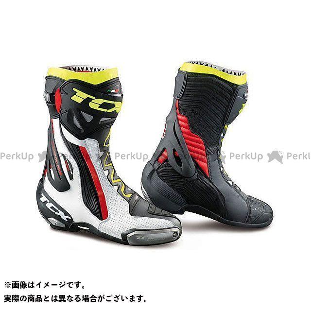 【エントリーで更にP5倍】TCX Boots RT-RACE PRO AIR WHITE/RED/YELLOW FLUO サイズ:47 ティーシーエックス