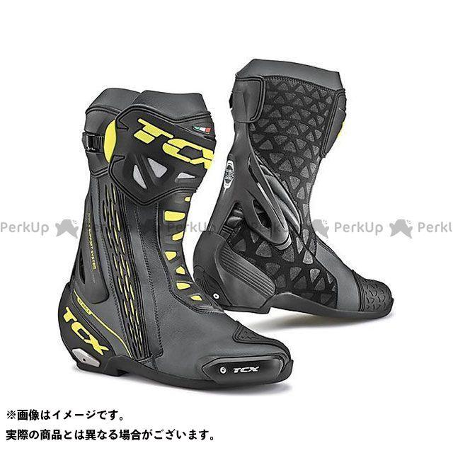 【エントリーで更にP5倍】TCX Boots RT-RACE BLACK/YELLOW FLUO サイズ:46 ティーシーエックス