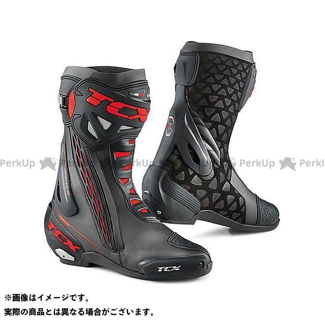 【エントリーで更にP5倍】TCX Boots RT-RACE BLACK/RED サイズ:48 ティーシーエックス