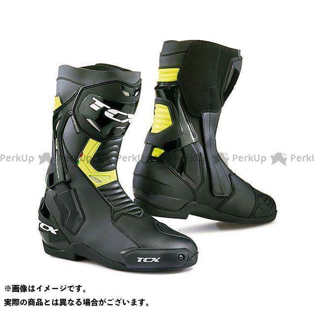 【エントリーで更にP5倍】TCX Boots ST-FIGHTER WP BLACK/YELLOW FLUO サイズ:43 ティーシーエックス