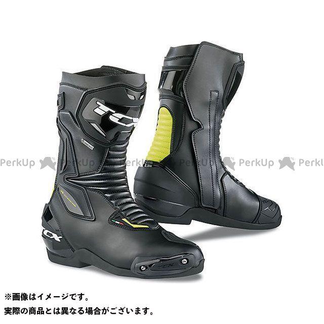【エントリーで更にP5倍】TCX Boots SP-MASTER GTX BLACK/YELLOW FLUO サイズ:49 ティーシーエックス