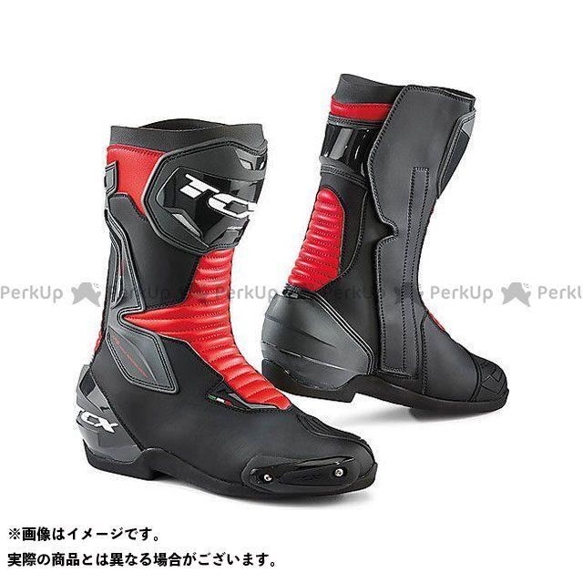 【エントリーで更にP5倍】TCX Boots SP-MASTER BLACK/RED サイズ:45 ティーシーエックス