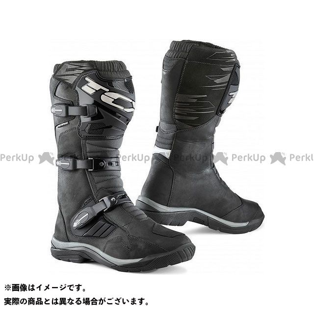 【エントリーで更にP5倍】TCX Boots BAJA WP BLACK サイズ:47 ティーシーエックス