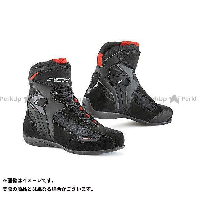 【エントリーで更にP5倍】TCX Boots VIBE AIR BLACK サイズ:47 ティーシーエックス