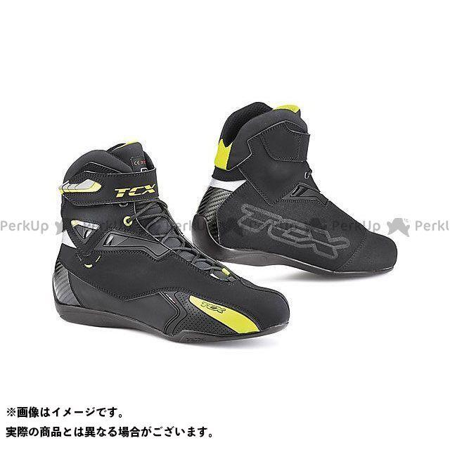 【エントリーで更にP5倍】TCX Boots RUSH WP BLACK/YELLOW FLUO サイズ:42 ティーシーエックス