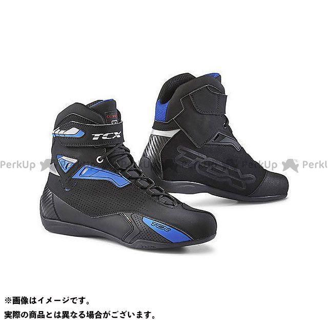 【エントリーで更にP5倍】TCX Boots RUSH BLACK/BLUE サイズ:41 ティーシーエックス