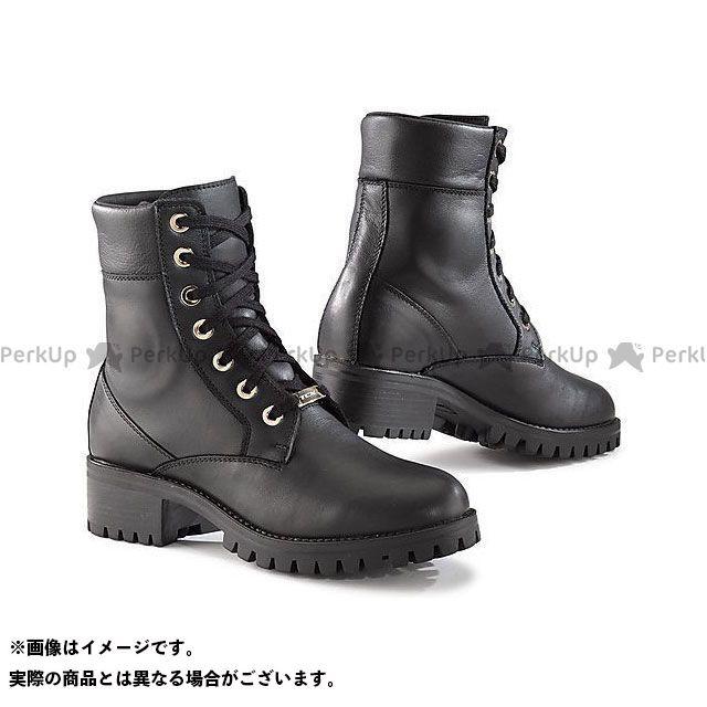 【エントリーで更にP5倍】TCX Boots LADY SMOKE WP BLACK サイズ:37 ティーシーエックス