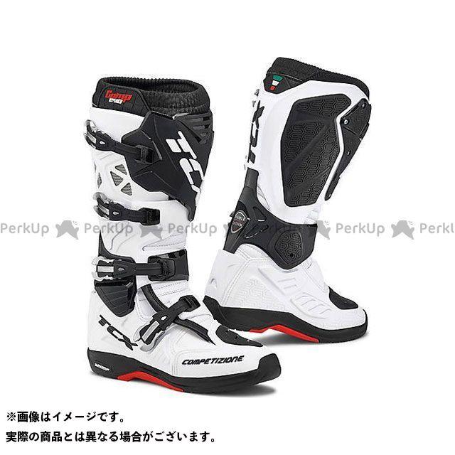 【エントリーで更にP5倍】TCX Boots COMP EVO 2 MICHELIN WHITE サイズ:47 ティーシーエックス