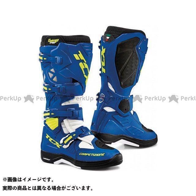 【エントリーで更にP5倍】TCX Boots COMP EVO 2 MICHELIN BRIGHT BLUE/WHITE サイズ:46 ティーシーエックス