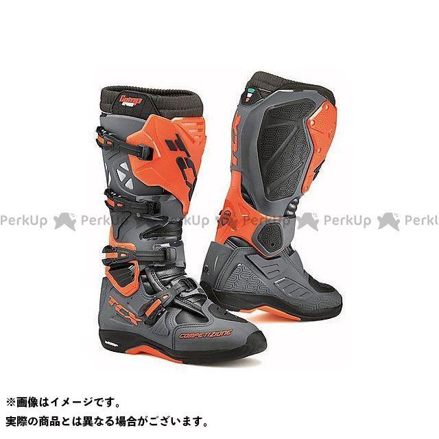 【エントリーで更にP5倍】TCX Boots COMP EVO 2 MICHELIN DARK GREY/ORANGE FLUO サイズ:41 ティーシーエックス