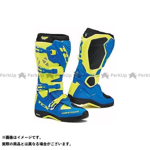 【エントリーで更にP5倍】TCX Boots COMP EVO 2 MICHELIN ROYAL BLUE/YELLOW FLUO サイズ:42 ティーシーエックス