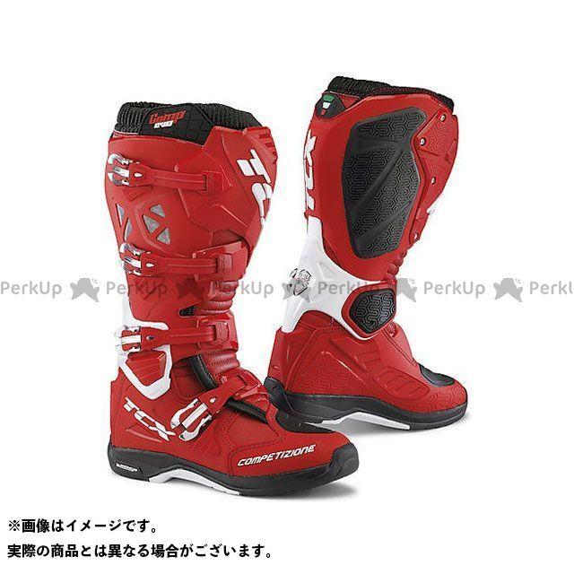 【エントリーで更にP5倍】TCX Boots COMP EVO 2 MICHELIN RED/WHITE サイズ:42 ティーシーエックス