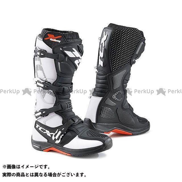 【エントリーで更にP5倍】TCX Boots X-HELIUM MICHELIN WHITE サイズ:44 ティーシーエックス