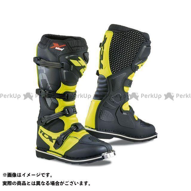 【エントリーで更にP5倍】TCX Boots X-BLAST BLACK/YELLOW FLUO サイズ:44 ティーシーエックス