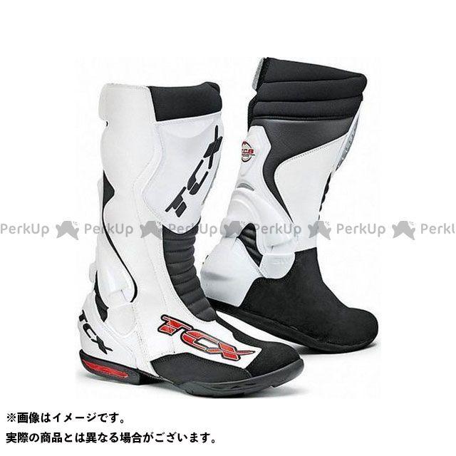 【エントリーで更にP5倍】TCX Boots RACING SPEEDWAY WHITE サイズ:44 ティーシーエックス