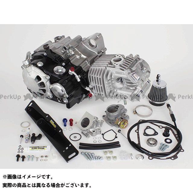 【エントリーで最大P21倍】SP武川 グロム スーパーヘッド4V+Rコンプリートエンジン181cc(乾式クラッチ仕様) TAKEGAWA