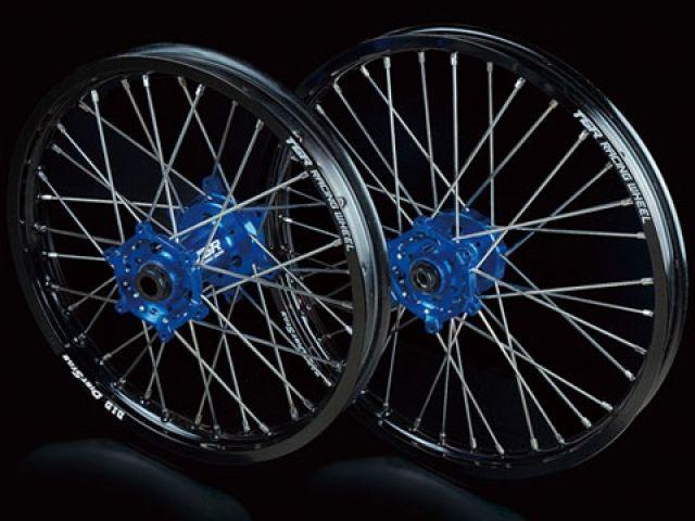 TGR YZ450F ホイール本体 TGR レーシングホイール TYPE-R モトクロス用 リア単体 ブルー グリーン